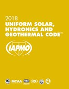 Uniform Solar, Hydronics and Geothermal Code